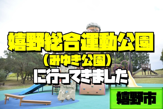 嬉野総合公園 遊具