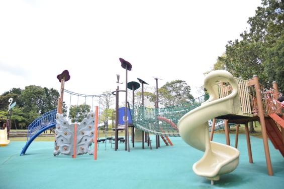 嬉野市総合運動公園 遊具