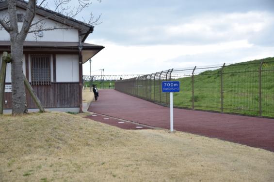 牛津総合公園 ジョギング