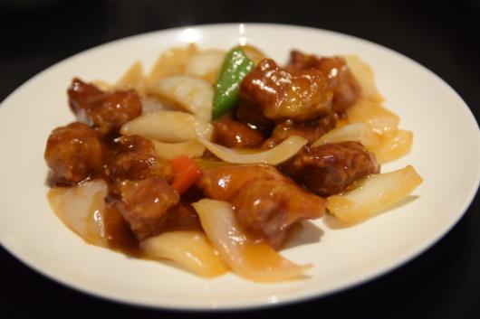 ソンヨン 酢豚