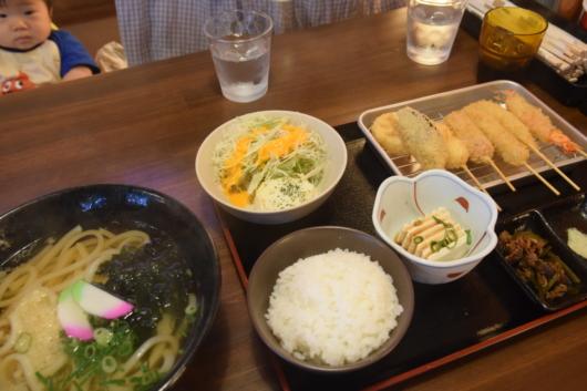 番豚(バンブー) 串カツ定食